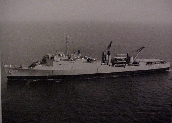 USS Spiegel Grove (LSD-32)  -  August 1973