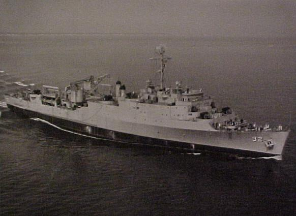 USS Spiegel Grove (LSD-32)  -  July 1956