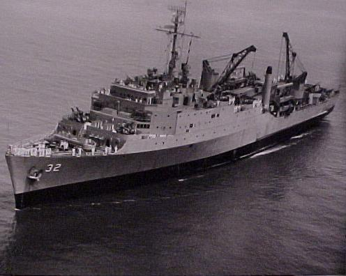 USS Spiegel Grove (LSD-32)  -  June 1957