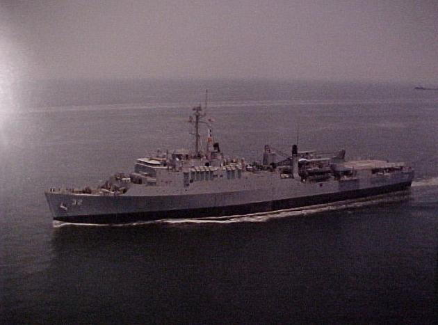 USS Spiegel Grove (LSD-32)  -  June 1982