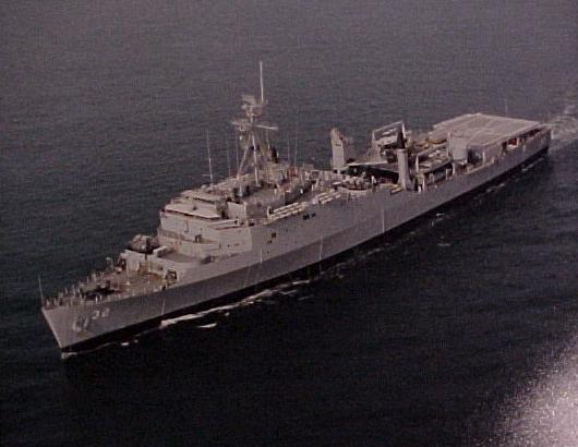 USS Spiegel Grove (LSD-32)  -  May 1981