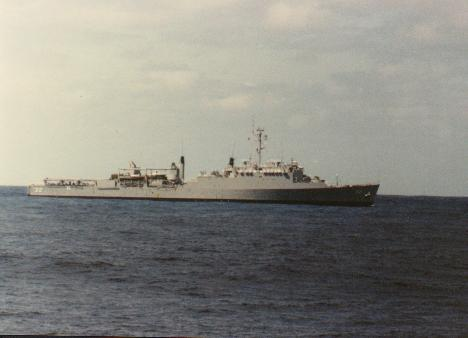 "USS Spiegel Grove (LSD-32) ""Haze Gray & Underway!"""